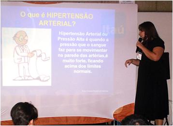 PALESTRA DIABETES E HIPERTENSÃO ARTERIAL